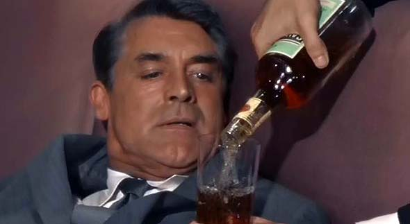 Cary Grant, alcohol