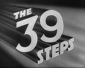 39 Steps Hitchcock Title
