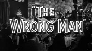 Title Design: The Wrong Man