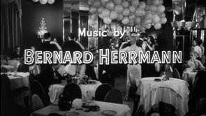 Bernard Herrmann. Title Design: The Wrong Man