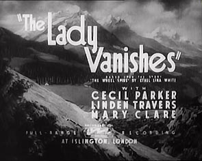 The Lady Vanishes Hitchcock Titles