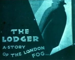 The Lodger Hitchcock Title