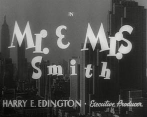 Hitchcock Titles Mr and Mrs Smith