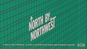 Hitchcock Titles North by Northwest