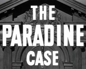 Hitchcock Titles The Paradine Case