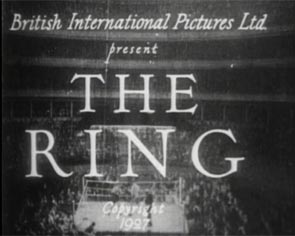 The Ring (1927) Hitchcock title