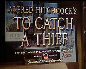 Hitchcock Titles To Catch a Thief