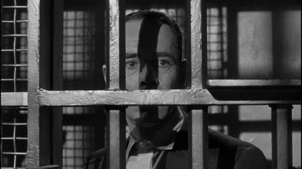 Henry Fonda behind bars in The Wrong Man.