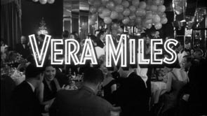 Vera Miles. Title Design: The Wrong Man