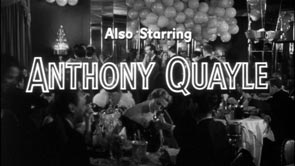 Anthony Quayle. Title Design: The Wrong Man