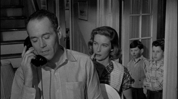 Henry Fonda as Manny Balestreros in Alfred Hitchcock's The Wrong Man.